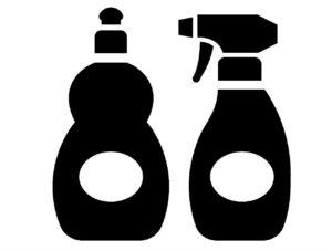 ハウスクリーニング用洗剤。塩素・酸素・還元・溶剤。